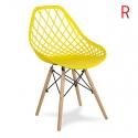 Chaise scandinave YE-01 yellow