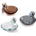 Vasques en verre